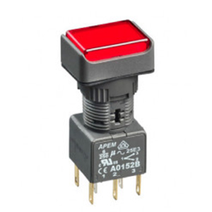 APEM A01 Series Push Buttons and Indicators