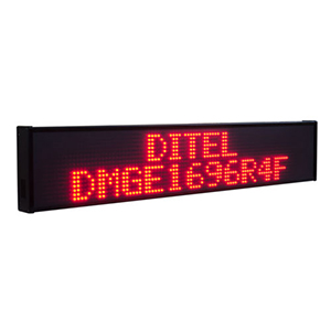 Ditel DMGE1696 Dot Matrix Display (16 x 96 Pixels)