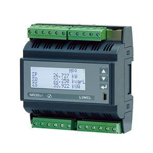 Lumel NR30IoT Rail mounted power network meter