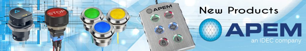 APEM New Products leader banner